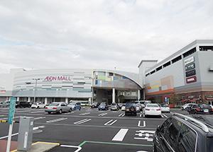 昨秋増床リニューアルした「イオンモール広島府中」。中四国初出店店舗が多く入った。