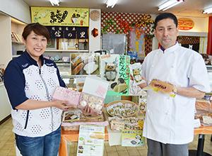 車椅子で買い物ができる店舗。商品開発に注力する小竹孝雄・加洋子夫妻
