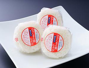 生産が追いつかないほどの人気米「ひゃくまん穀(ごく)」で作った塩むすび
