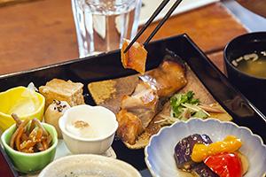 セミナーで提供されたメープルシロップを使用した和食メニュー