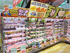 生鮮・惣菜で足元商圏の取り込みを促進