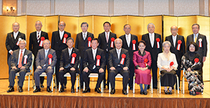 50回の節目の受賞者と選考委員