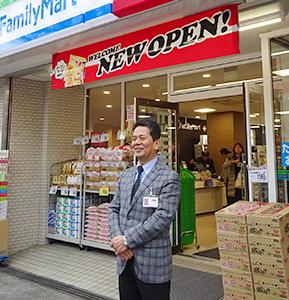 融合2号店の取組みを説明する伊藤輝志社長
