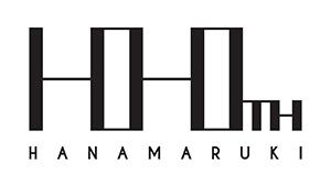 100周年記念ロゴは100にも見えるが見方によって「H」がつながっているように見える