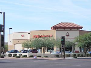 米国テキサス州フェニックス市内にあるCVSヘルスの店舗