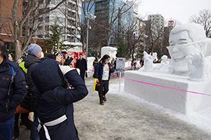 毎年200万人を超える観光客でにぎわう札幌雪まつり。今年も2月5日から開幕する