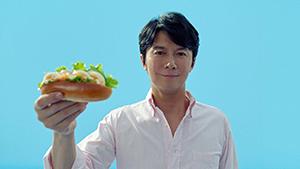 新スタイルのサンドイッチ「サラダサンド」を提案