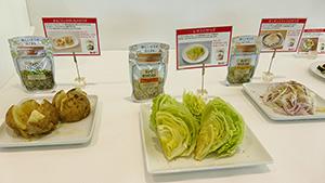 シンプルで素材の味を生かすことから、単品野菜メニューとの相性も良い