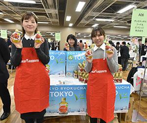 オリンピック需要向け「東京緑茶」(ポッカサッポロフード&ビバレッジ)