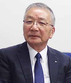 栗栖信也代表取締役社長