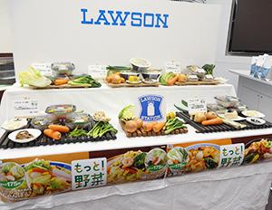 ラインアップも充実するローソンの「もっと!野菜」シリーズ