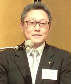 青木基博名給代表取締役社長