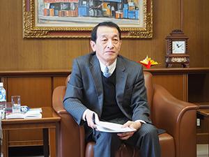 平山勝己日本食糧新聞社取締役副社長