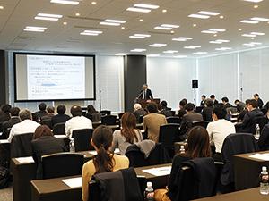 東京会場には約80人の受講者が集まった