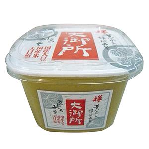 カネジュウ食品「大御所 あいじろみそ」(500g・税別400円)