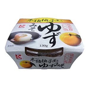 かねこみそ「木頭柚子薫るゆずみそ」(130g、標準小売税別250円)