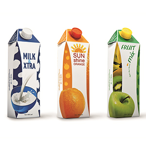 高級感のあるパッケージは機能性飲料や高付加価値飲料用に最適