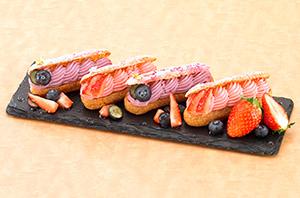 「フロマージュクリーム レアチーズ風味」の調理例「フィンガーフロマージュ」