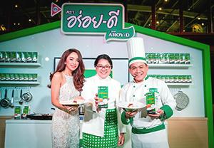 「アロイディー」ブランドのココナツ製品を製造販売するタイ・アグリ・フーズも順調に売上げが伸びている=提供写真