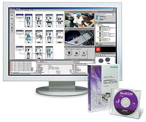 食品工場のIoT化を支援する品質管理・制御システム「QuiCCA」。視覚的に分かりやすい画面構成になっている