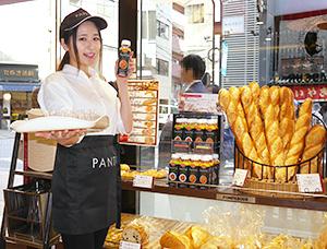 ベーカリーで新規客が見込めると期待の「PANTO」(写真はポンパドウル麻布十番店)