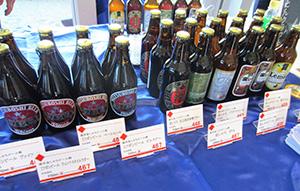 注目された「盛田金しゃちビール」の商品群