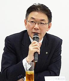 岩崎高治社長