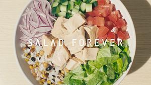 """サラダの無限の可能性を表現する""""SALAD FOREVER""""がキャッチコピー"""