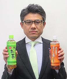 安田哲也マーケティング一部緑茶・麦茶・紅茶飲料ブランドマネジャー