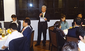 増田文治理事長