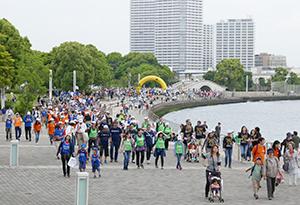 過去最多4707人が参加した「WFPウォーク・ザ・ワールド」