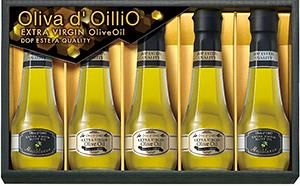 ギフト専用品を詰め合わせた「Olivad,OilliOエキストラバージンオリーブオイルギフト」(OL-30)