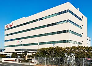 各研究部門が集約された舞浜研究所(千葉県)