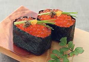 自然解凍対応の各種寿司ネタは汎用性が高い