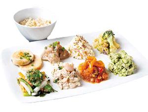 スーパーフードデリプレート(8種+玄米ごはん)1,200円(税込み