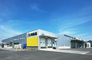北関東自動車道・佐野田沼IC から北西約1km、国道293 号に近い佐野田沼インター産業団地内に位置する三州食品関東工場
