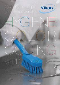 ヴァイカン製品の魅力が分かる最新カタログ「HYGIENE COLOR CODING Vol.11」