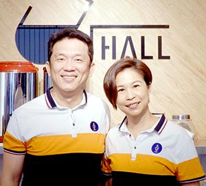 「JD HALL」は、台湾語で「這茶好」(このお茶がいいね!の意)に近い音(皇翼食品)