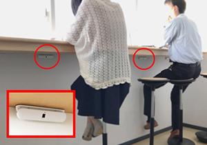 ワイヤレス存在検知センサー「CPD」は、人の体の動きがない時でも着席者を確実に判別できる