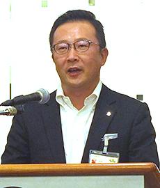 臼田真一朗代表幹事