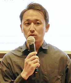 最優秀賞受賞の喜びを語る関澤波留人氏