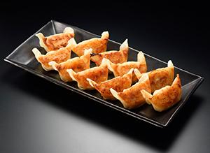 「八洋黒豚餃子」調理イメージ