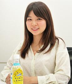 「キリンレモン」と二宮倫子商品担当主任