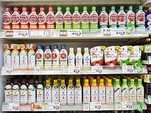 鮮度容器の登場で商品構成が一変した醤油売場