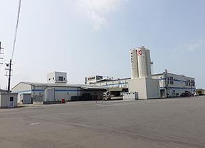 中尾食品グループの乾麺工場