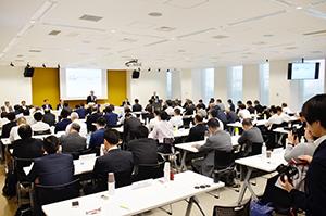 日本青年館ホテル(東京都新宿区)で開催された総会・懇親会