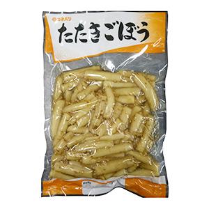 大袋惣菜で一番売れている「たたきごぼう」
