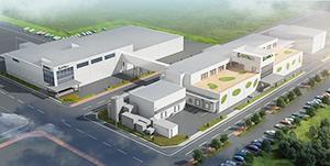 新関東工場の完成予想図