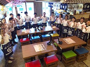 海外日本食 成功の分水嶺(58)IZAKAYA555 タイ人客に響く仕掛けを