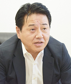 大阪屋ショップ代表取締役社長 平邑秀樹氏